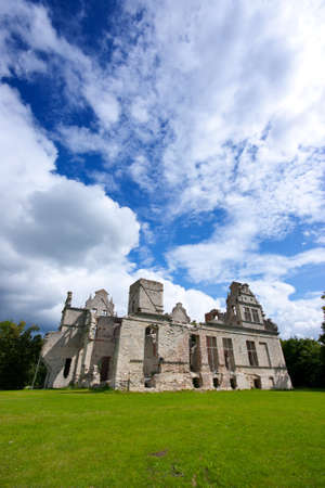 ramshackle: Old castle ruins Stock Photo
