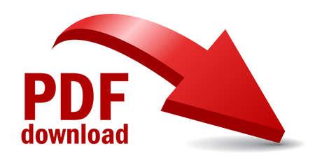 Pdf-bestand te downloaden illustratie