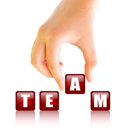 Team building concept Stock Photo - 15544262