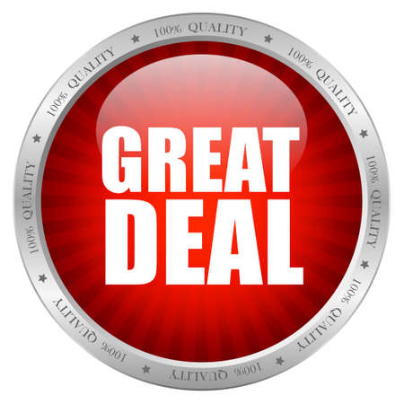 Great deal icon, vector illustration Vector