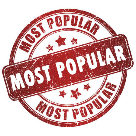 Meest populair stempel