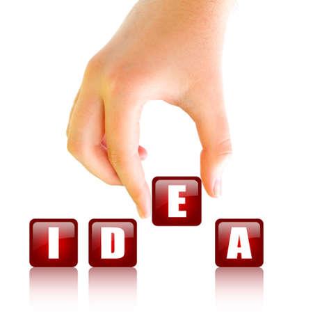 brilliant idea: Idea concept
