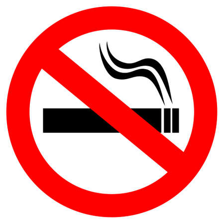 no fumar: Muestra de no fumadores
