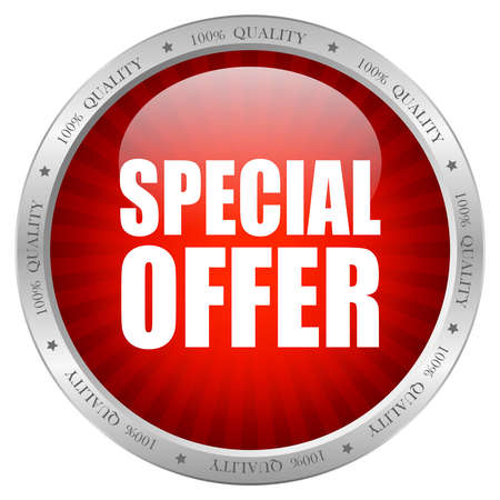 special: Vector special offer icon Illustration