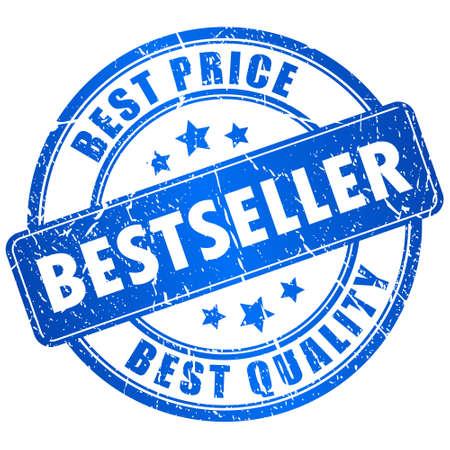 Bestseller stamp Stock Vector - 15714151