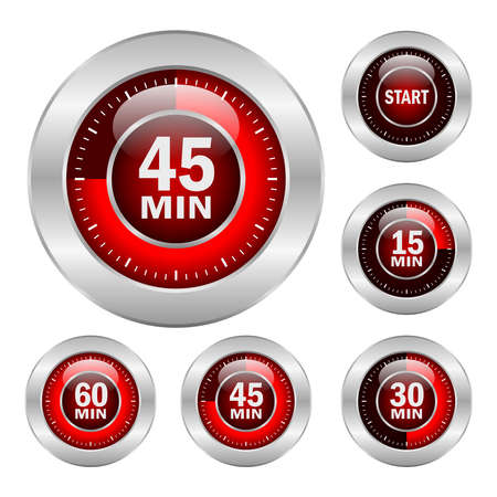 minute: Timer icons