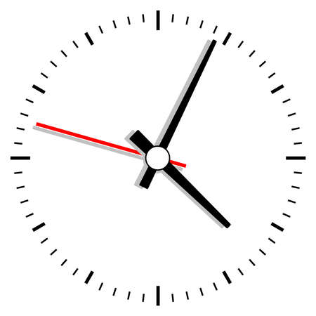 clock illustration Vector