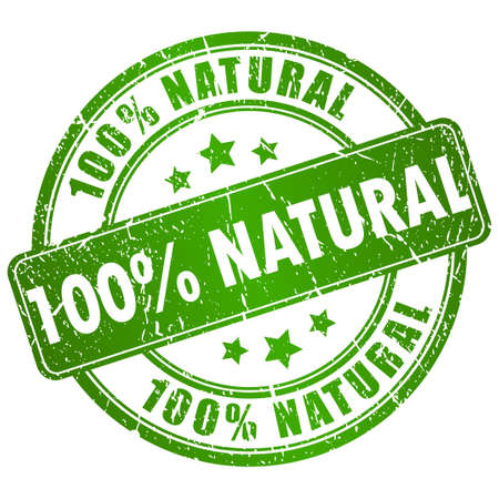 timbre naturel Vecteurs