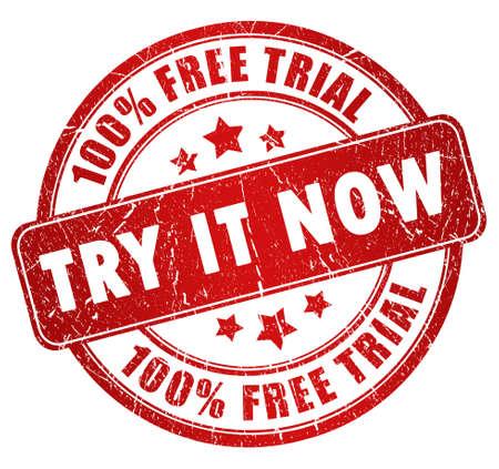 Sello de prueba gratuita