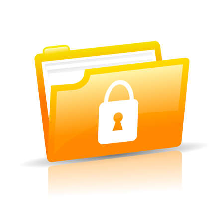 Personal data protection Vector