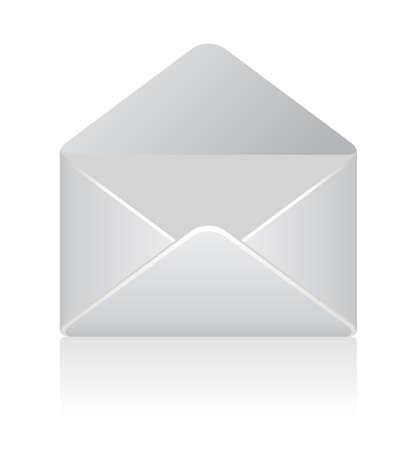 Vector envelope illustration Illustration