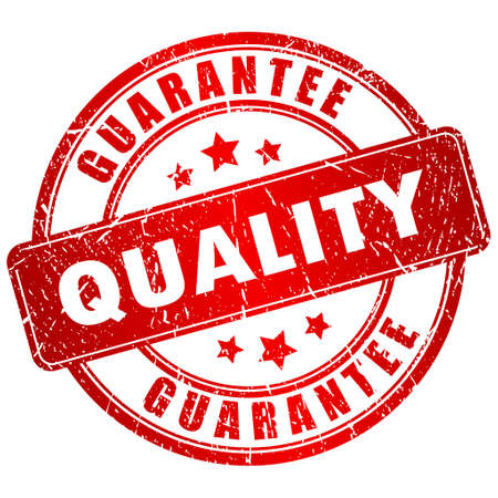 Vecteur label de qualité