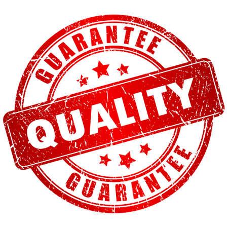 estampa: Vector sello de calidad Vectores