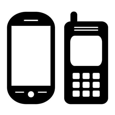 Vector phones set Stock Vector - 16257118