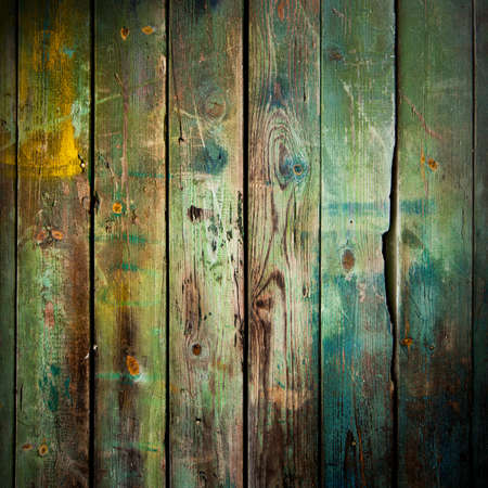 painted wood: Old wood background