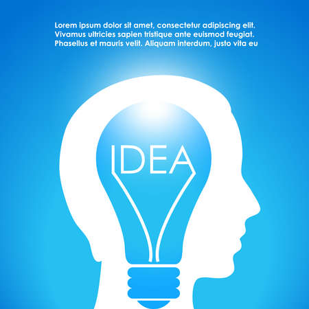 New idea image Vector