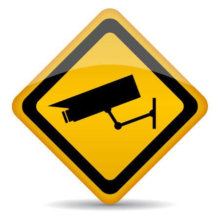 Signe de vidéo surveillance