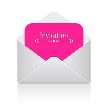 office party: Invitation card vector illustration