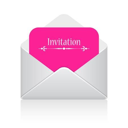 tarjeta de invitacion: Tarjeta de la invitación ilustración vectorial