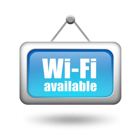 available: Wi-fi available sign