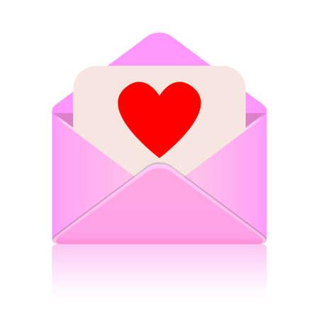 love message Stock Vector - 16837086