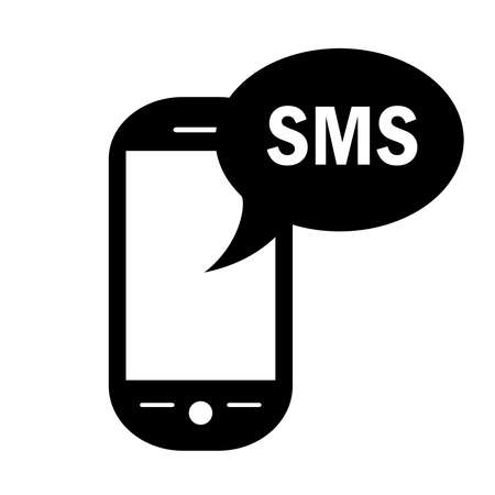 sms symbol Stock Vector - 16837085