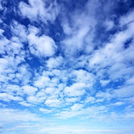 nebulosity: Blue sky background Stock Photo