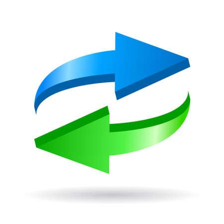 Recharger symbole vecteur Vecteurs