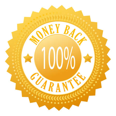 Money back  seal Vector