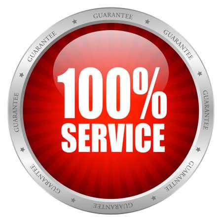 kunden: Symbol f�r den Dienst Illustration