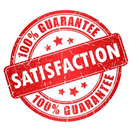 satisfaction stamp Stock Vector - 17898525