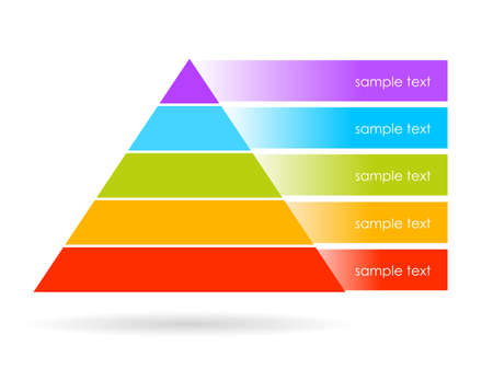 pyramid graphics Vector