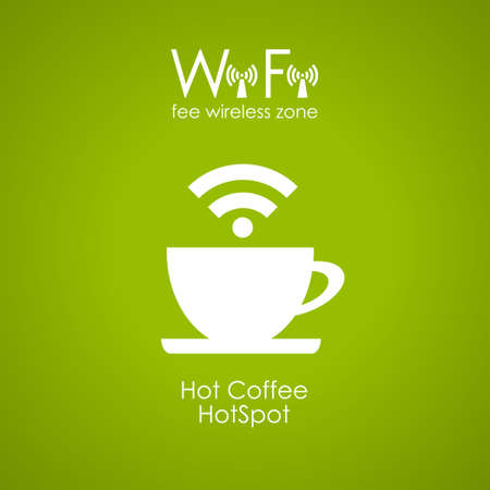 cafe internet: Café Internet cartel diseño