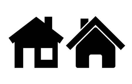 small house: home icons