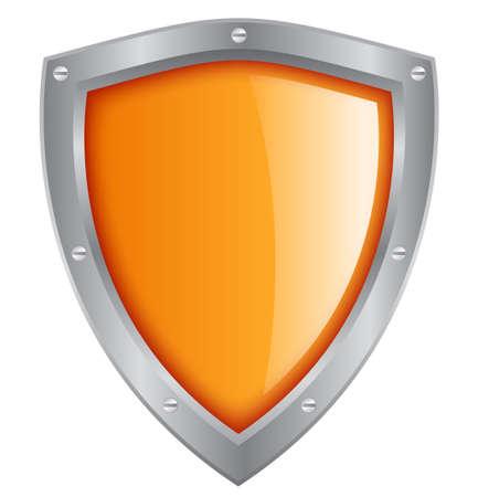 trustworthy: shield illustration Illustration