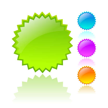 Vector stars icons Stock Vector - 18233902