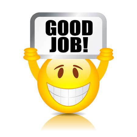 smiley: goede baan smiley
