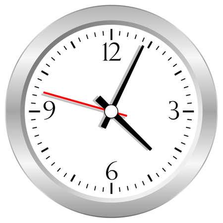 Vector clock Stock Vector - 18372173