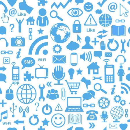 broadcasting: Social fondo los medios de comunicaci�n sin fisuras