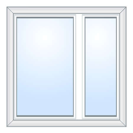 Vector window illustration Stock Vector - 18372165