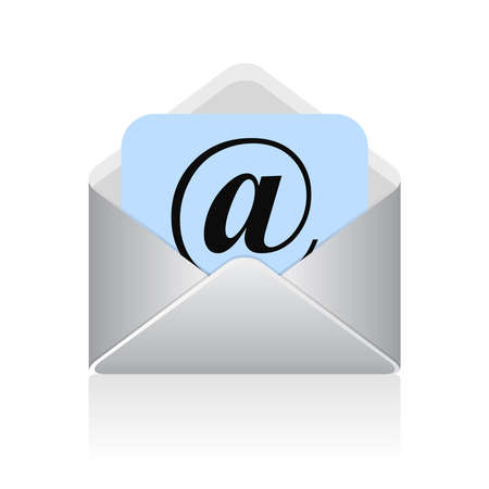 email communication:  email symbol
