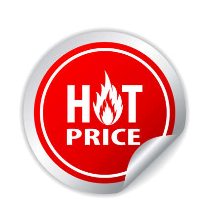 Hot price icon photo