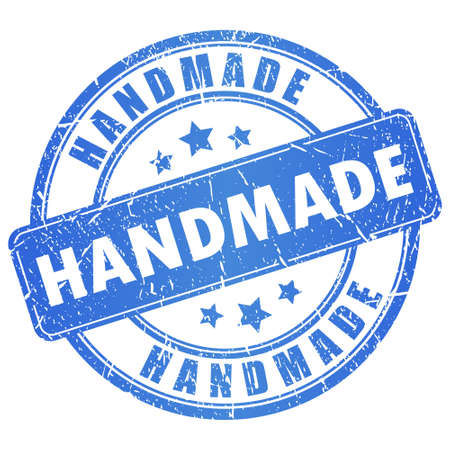 handmade stamp Stock Vector - 18964565