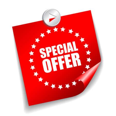 offerta speciale: offerta speciale adesivo