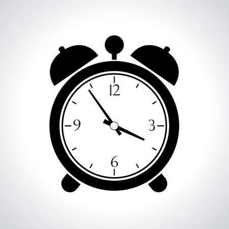 wake up call: alarm clock icon