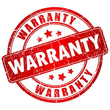 surety: Warranty vector stamp