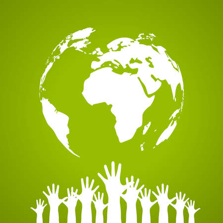 Vector global unity poster Stock Vector - 19397635