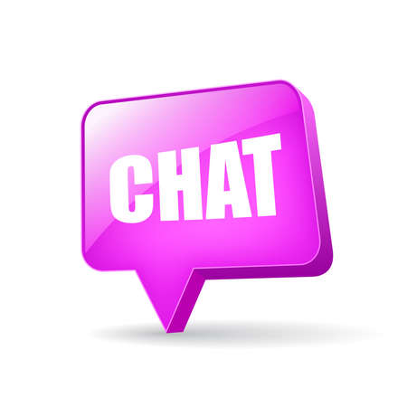 Vector chat bubble Vector