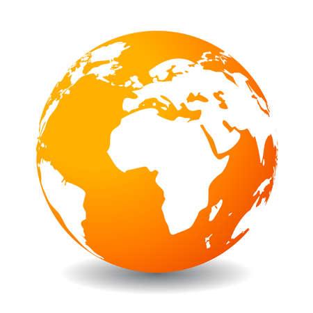 地球アイコン、ベクトル クリップ アート