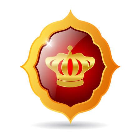 Vector royal emblem Vector